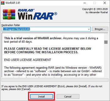winrar download latest version